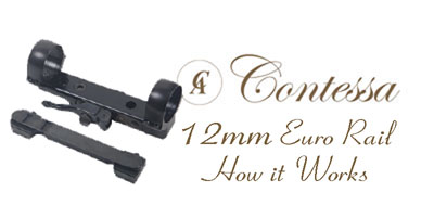 Contessa 12mm Euro Rail Quick Release Mounts
