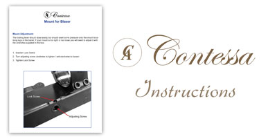 Contessa Adjustment Screw Instructions