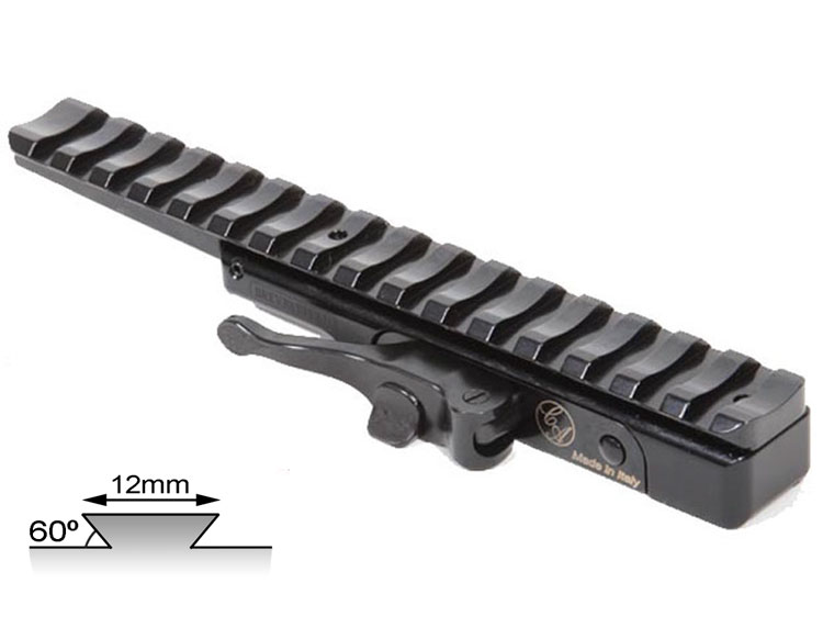 Contessa Quick Release for Euro Rail