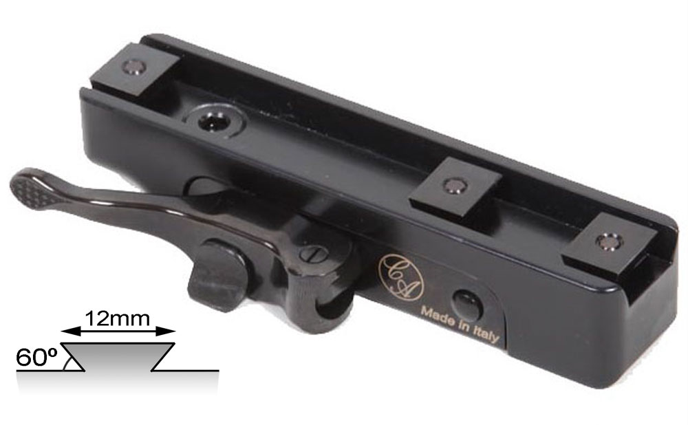 Contessa Mount for Picatinny Rail